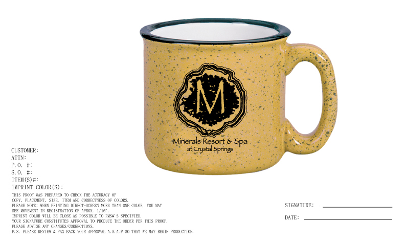 Custom Coffee Mugs for Resort